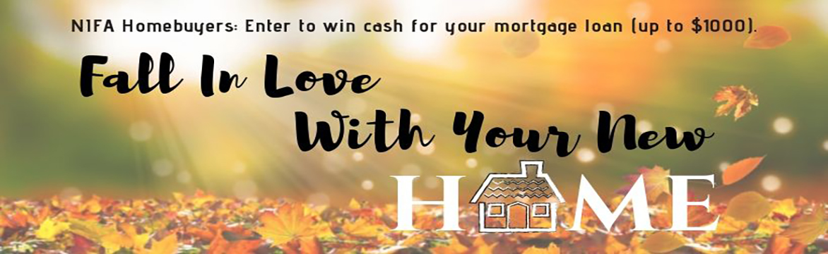 Fall In Love With Home Banner 2019